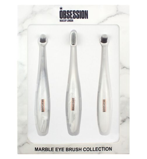 Obsession By Revolution marble eye brush set