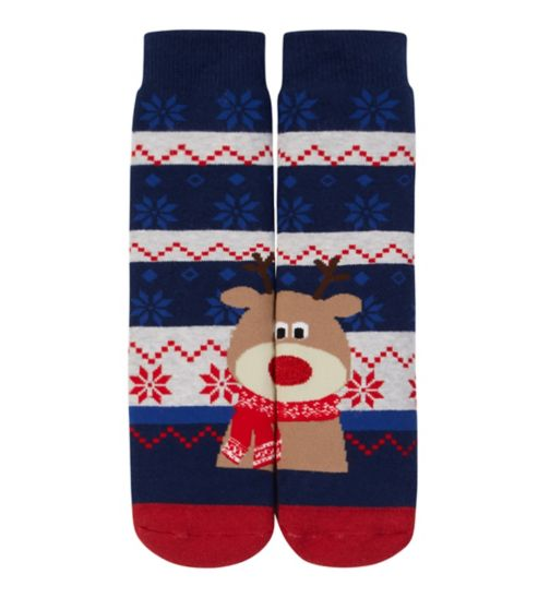 Mini Club Xmas Slipper Sock