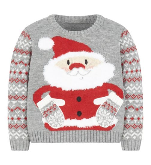Mini Club Christmas Santa Jumper
