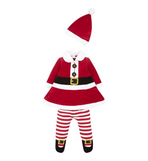 Mini Club Baby Mrs Claus All-in-one