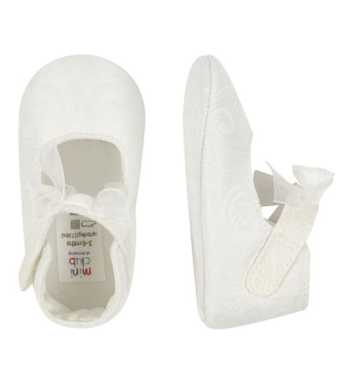 Mini Club Baby White Pramshoe