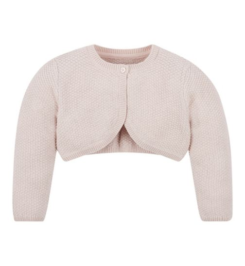 Mini Club All Dressed Up Pink Cardigan