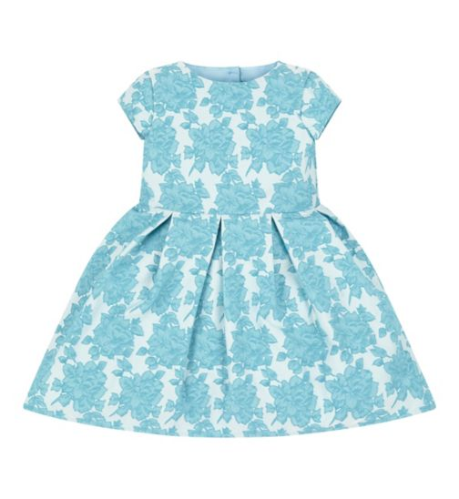 Mini Club All Dressed Up Teal Dress