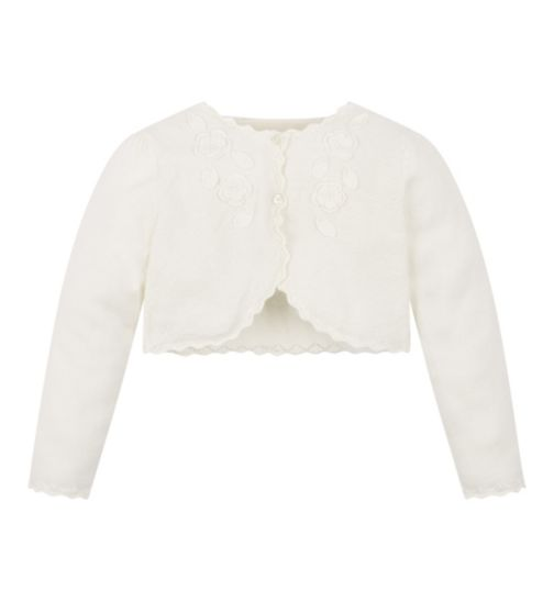 Mini Club All Dressed Up Cream Cardigan