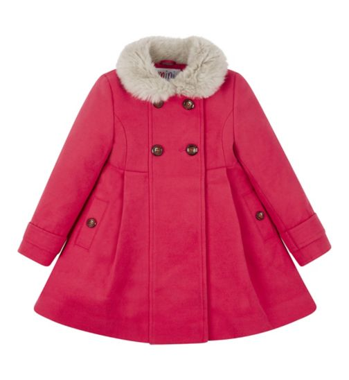 Mini Club All Dressed Up Pink Coat