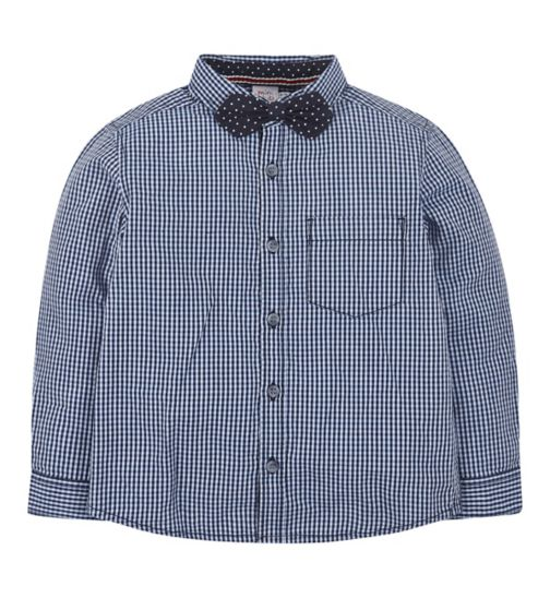 Mini Club All Dressed Up Shirt and Bow Tie Set
