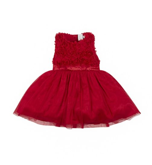 Mini Club Xmas red party dress
