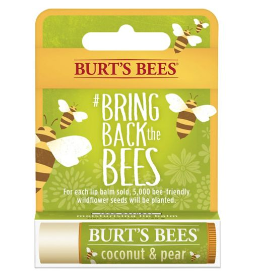 Burts Bees Coconut & Pear Limited Edition Bring Back the Bees Lip Balm