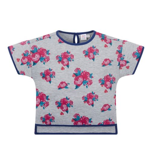 Mini Club Bows and Arrows Floral Top