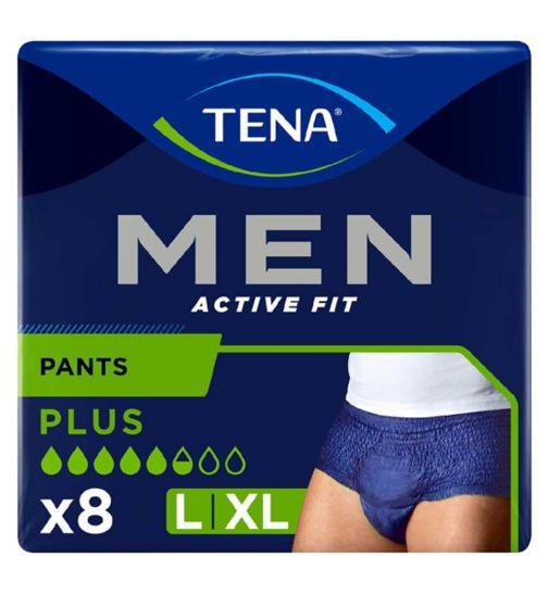 Tena Men Active Fit Pants Plus Large - 8 Pants
