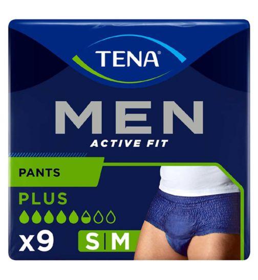 Tena Men Active Fit Pants Plus Medium - 9 pants