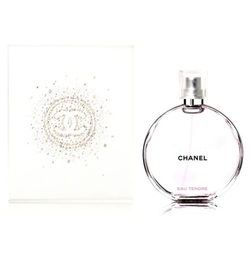 CHANEL CHANCE EAU TENDRE Eau De Toilette Spray 100ml - Gift Wrapped