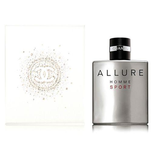 CHANEL ALLURE HOMME SPORT Eau De Toilette Spray 100ml - Gift Wrapped
