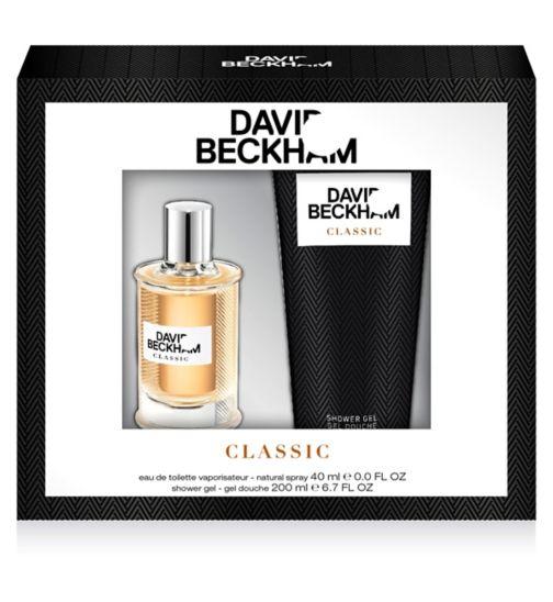 Beckham Classic Eau de Toilette 40ml gift set