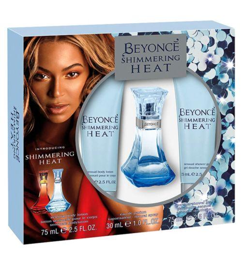 Beyonce Heat Shimmer Eau de Parfum 30ml gift set