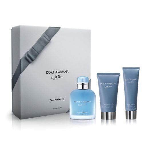 Dolce & Gabbana Light Blue Eau Intense Pour Homme Eau de Parfum 100ml gift set