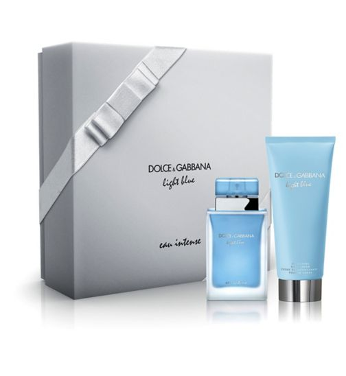 Dolce & Gabbana Light Blue Eau Intense Eau de Parfum 50ml gift set