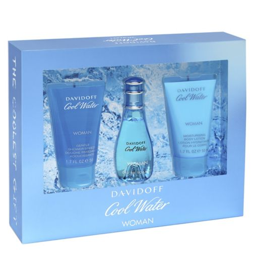 Davidoff Cool Water Woman Eau de Toilette 30ml gift set