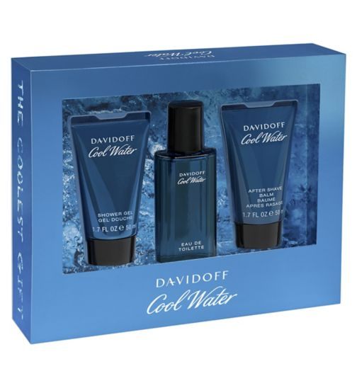 Davidoff Cool Water Man Eau de Toilette 40ml gift set