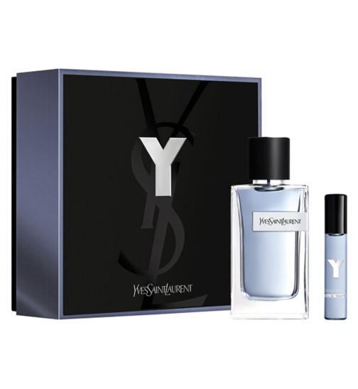 Yves Saint Laurent Y Eau de Toilette 100ml Travel gift set