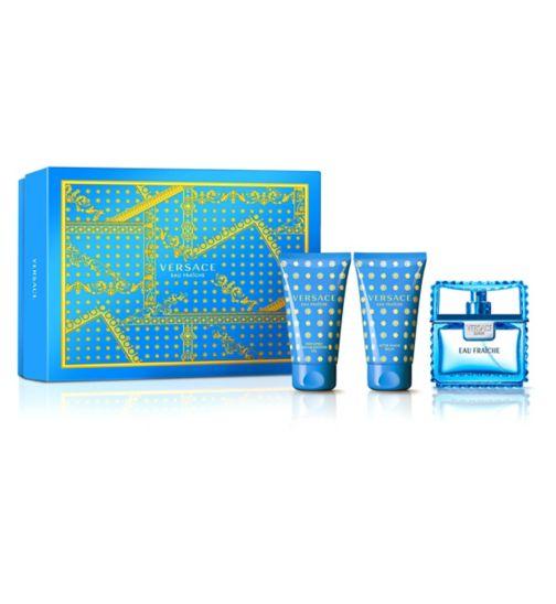 Versace Man Eau Fraiche Eau de Toilette 50ml Gift Set