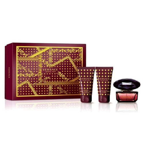 Versace Crystal Noir Eau de Toilette 50ml Gift Set