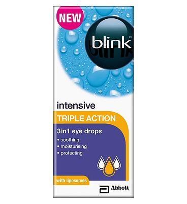 Blink intensive triple action eye drops