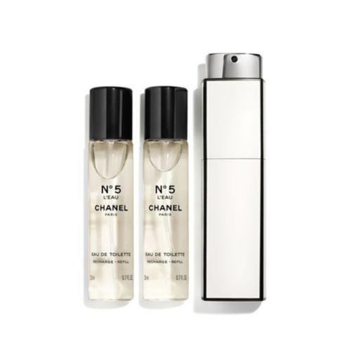 CHANEL N°5 L'EAU PURSE SPRAY 3 X 20ML