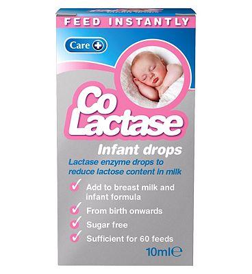 Care Co-Lactase infant drops - 10ml