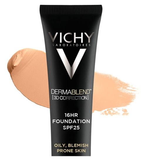 Vichy Dermablend 3D Fluid Foundation 30ml