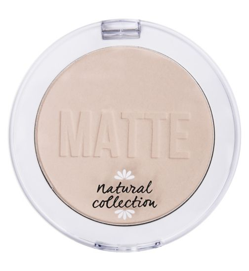 Natural Collection Matte Pressed Powder