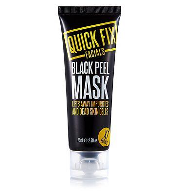 Quick Fix Facials black peel mask 75ml