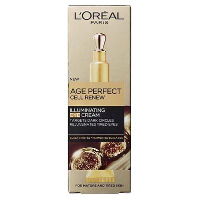 Image of L'Oreal Paris Age Perfect Cell Renew Illuminating Eye Cream 15ml