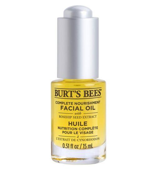 Burts Bees Complete Nourishment Facial Oil