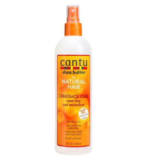 Cantu Shea Butter for Natural Hair Comeback Curl Next Day Revitaliser 355ml