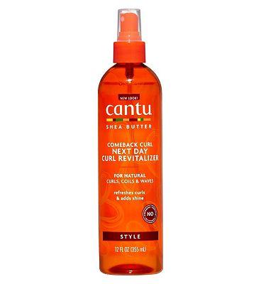 Cantu Shea Butter for Natural Hair Comeback Curl Next Day Revitaliser 355ml