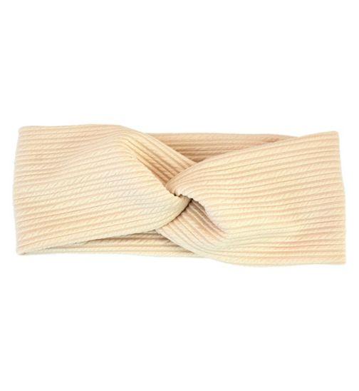 Kitsch beige head wrap