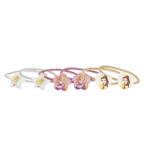 Disney Princess glitter elastic ponybands