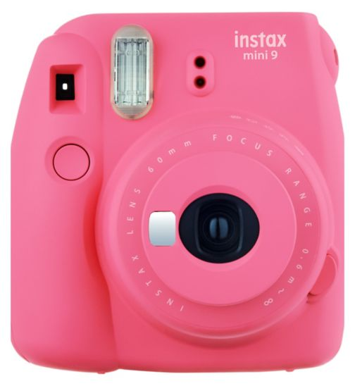 Fujifilm Instax mini 9 with 10 shots - Coral Pink