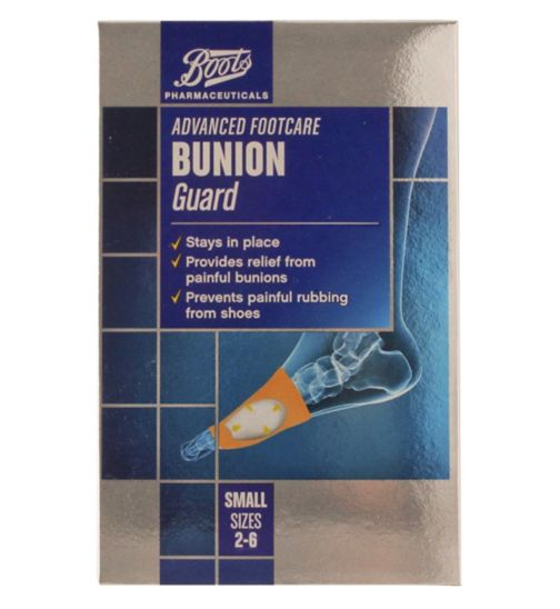 Boots Pharmaceuticals Advanced Footcare bunion guard small