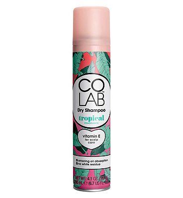 Colab dry shampoo spray tropical 200ml