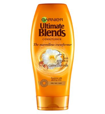 Garnier Ultimate Blends Argan Oil Shiny Hair Conditioner 360ml by Garnier