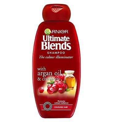 Garnier Ultimate Blends Argan Oil Coloured Hair Shampoo 360ml