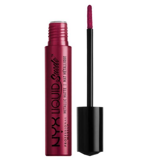 NYX Professional Makeup Liquid Suede Metallic Matte Cream Lipstick