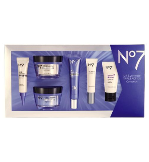 No7 Lift and Luminate TRIPLE ACTION collection