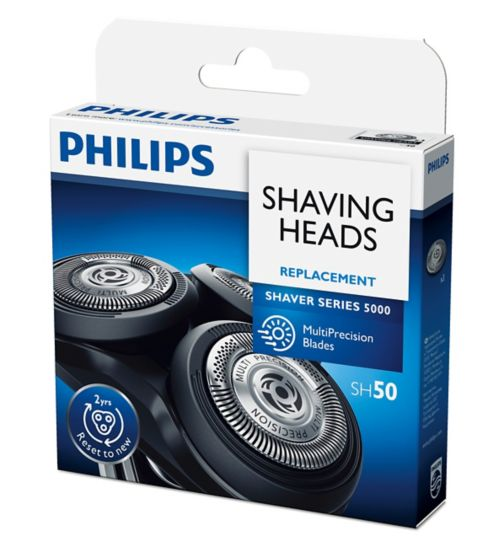 Philips Replacement Blades SH50/50 for Series 5000 Electric Shavers