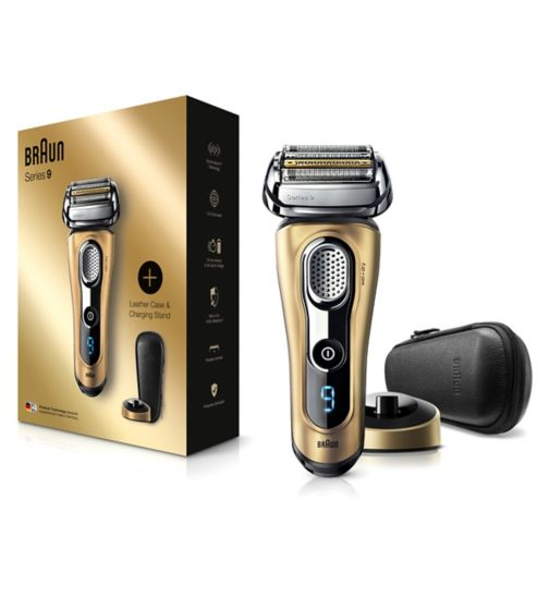 Braun Series 9 9299s Men's Electric Foil Shaver, Wet & Dry Razor with Charging Stand
