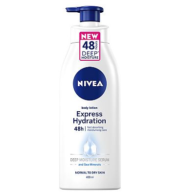 NIVEA Body Lotion, Fast Absorbing Express Hydration 400ml