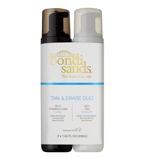 Bondi Sands tan & erase gift set