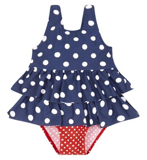 Mini Club Spot Swimsuit